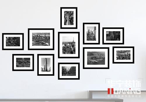 一,照片墙形状