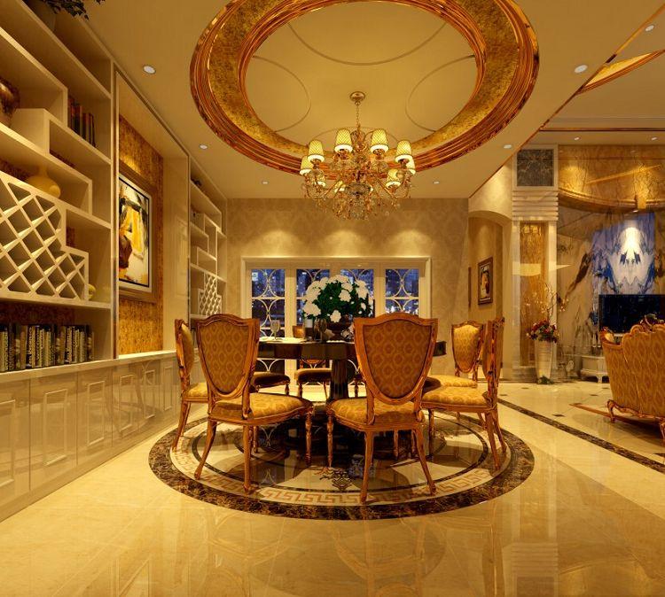 新建别墅欧式豪华装修案例展示         飞鹅岭现代简约风格