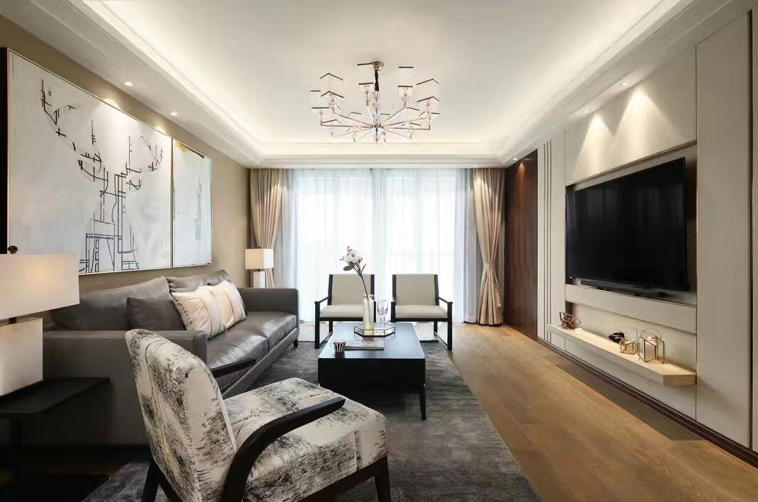 佳兆业城市广场现代轻奢风格设计案例赏析         常发豪庭